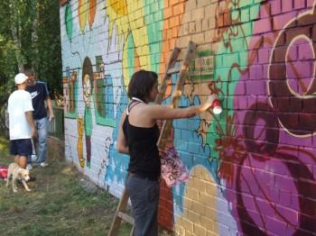 Как научиться граффити?