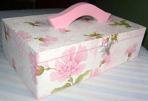 Сделать коробку для вещей своими руками