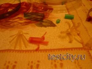 Салфетка из пластика
