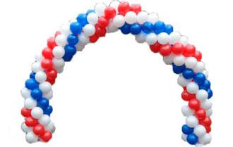 Как сделать арку из шаров