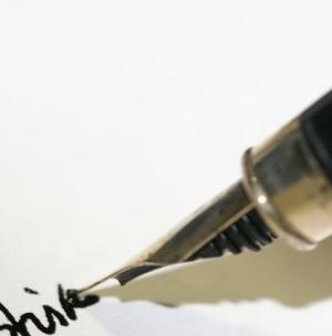 Как заправить перьевую ручку