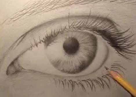 Как нарисовать глаза?