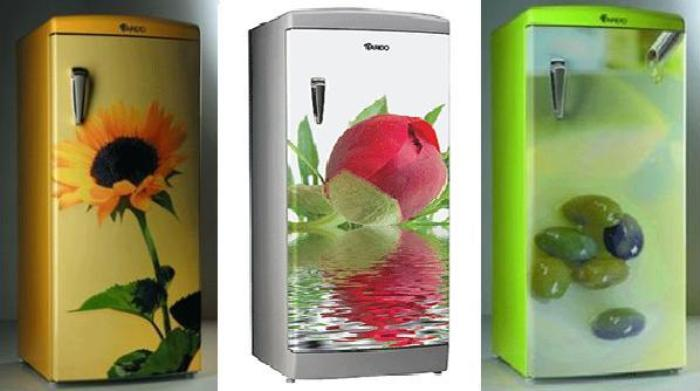 Как обновить внешний вид холодильника своими руками